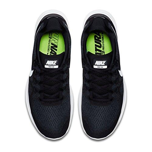 Nike Mens Libera Rn 2017 Scarpa Da Corsa Nero / Bianco / Scuro Grigio Taglia / Antracite 14 M Noi