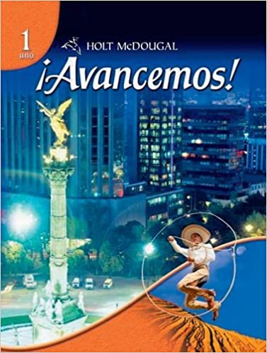 Amazon avancemos 1 uno 9780554025315 holt mcdougal books avancemos 1 uno 1st edition fandeluxe Images