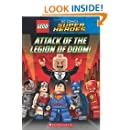 Attack of the Legion of Doom! (LEGO DC Super Heroes: Chapter Book)