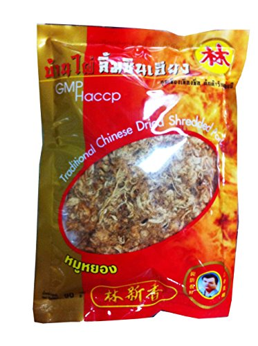 Price comparison product image 2 Packs of Traditional Chinese Dried Shredded Pork 90 G,  By Banphai Limcinheang (Premium Product From Khonkaen,  Thailand)