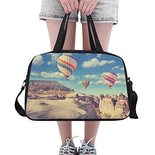 (Unique Debora Custom Weekend Travel Bag Unisex Travel Gear Luggage for Hot Air Balloon Landscape Cappadocia Turkey)