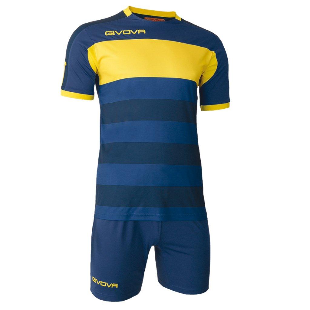 TALLA XL. Home Shop Italia Marca Givova–Modelo Kit Derby MC–Body de Camiseta Manga Corta y Pantalones 7