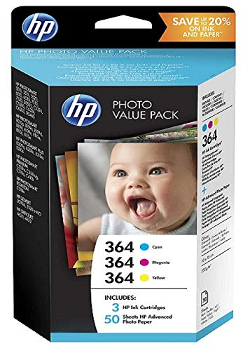 Hp - Photo value pack 364 series 50 sheets 10x15 cm ...