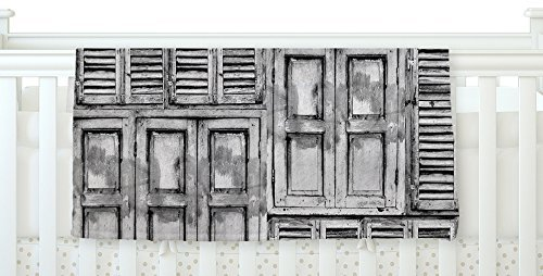 KESS InHouse Snap Studio Close the Door Gray Fleece Baby Blanket 40 x 30 [並行輸入品]   B077ZTNG71