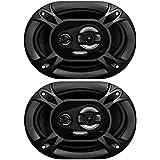 Sound Storm EX369 300 Watt (Per Pair), 6 x 9 Inch, Full Range, 3 Way Car Speakers (Sold in Pairs)