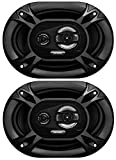 Sound Storm EX369 300 Watt (Per Pair), 6 x 9 Inch, Full Range, 3 Way Car Speakers (Sold in Pairs)