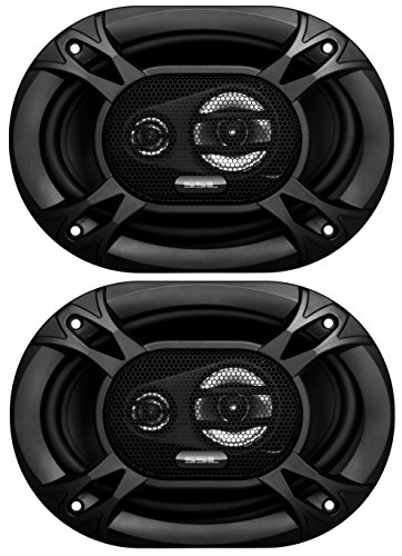 89 Chrysler Lebaron Coupe (Sound Storm EX369 300 Watt (Per Pair), 6 x 9 Inch, Full Range, 3 Way Car Speakers (Sold in Pairs))