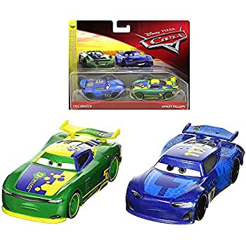 Cars Diecast Eric Braker & Spikey Fillups Disney 1:55 Scale
