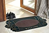 #6: Doormat Indoor Outdoor Mats Rugs - Entrance Outside Inside Non-Slip Entry Rug Floor Mats, Gray Scraper Rubber Backing Funny Welcome Entry Mat For Back Door Use, Utility Mats For Dogs Muds Shoes