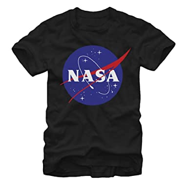 Amazon.com: Fifth Sun NASA Logo Adult T-shirt - Black: Clothing