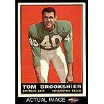 Amerikaans voetbal Verzamelkaarten, ruilkaarten 1960 Topps #89 Tom Brookshier Philadelphia Eagles RC Rookie Football Card