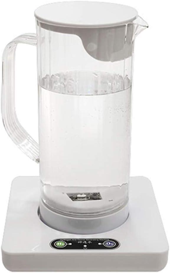 Hydrogen Rich Generator Water Kettle, Highest Model - Food-grade PC Hydrogen Generator Water Bottle SPE PEM Technology Water Ionizer. (1200ml)