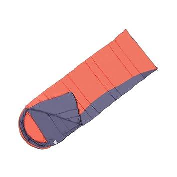 Saco de dormir LCSHAN Poliéster Exterior Interior Acampar cálido Adulto Cuatro Estaciones Algodón Grueso (Color : Orange): Amazon.es: Hogar
