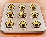 Baking Cake Pan Mold Muffin Pan, (cat foot)