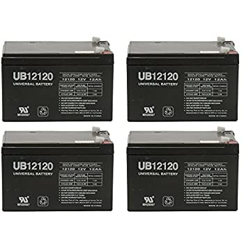 X-treme XB-502, XB502 Extreme Electric Moped Battery - 4 Pack