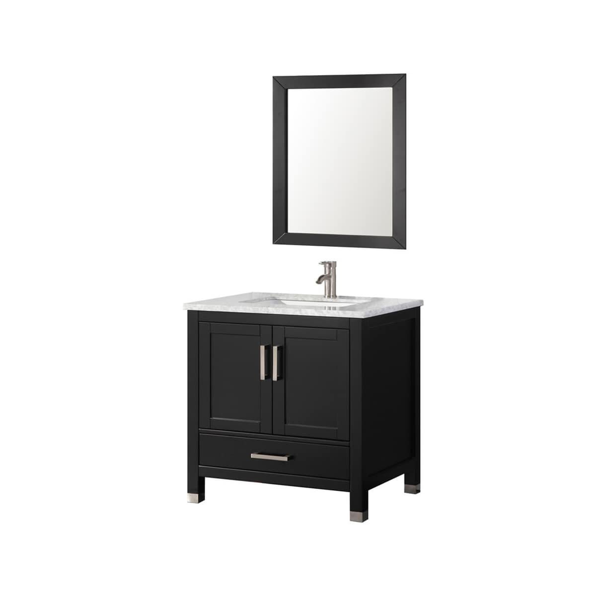 Amazon.com: Belvedere Bath 30 inch Belvedere Espresso Bathroom ...