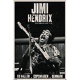 Jimi Hendrix Copenhagen, Denmark Poster Print