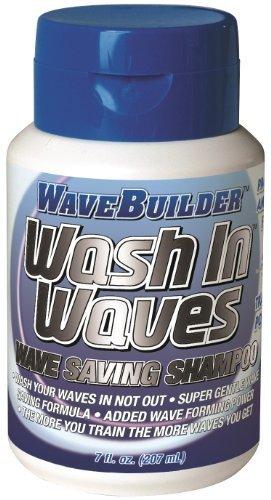 (WaveBuilder Wash In Waves Shampoo, 7 oz (Pack of 2))