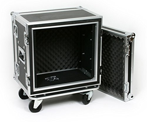 10 Space (10U) ATA Rack Effects Road Shock Mount Case (12'' Deep) by OSP (Image #9)