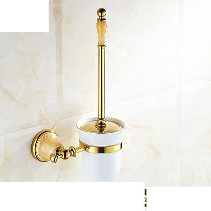 traje de portaescobillas completa higiénico de cobre de mármol/Titular de la antigüedad Continental Cepillo