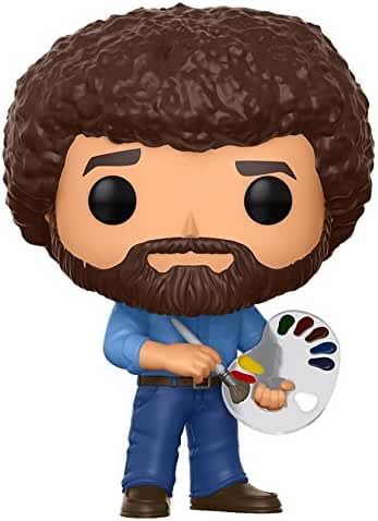 Funko Pop Television Bob Ross Collectible Figure