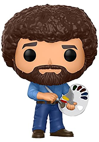 Funko Pop Television Bob Ross Collectible Figure - Collectibles