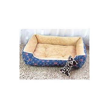 Wuwenw Gran Cama para Perros Perrera Almohadilla Suave Toalla para Mascotas Almohadones para Mascotas Perrito Cama