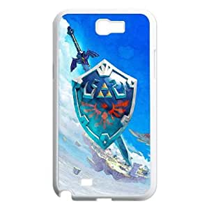 SamSung Galaxy Note2 7100 phone cases White The Legend of Zelda cell phone cases Beautiful gifts NYTR4629100