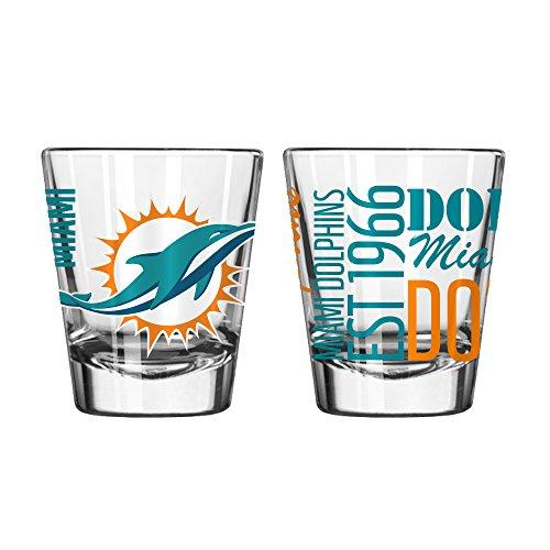 NFL Miami Dolphins 2 OZ Spirit Shot Glass