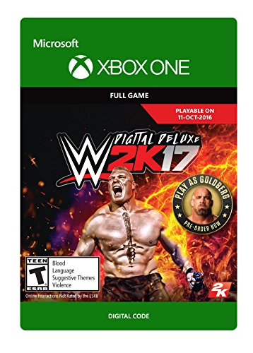 WWE 2K17: Digital Deluxe Edition - Xbox One Digital Code by 2K Games