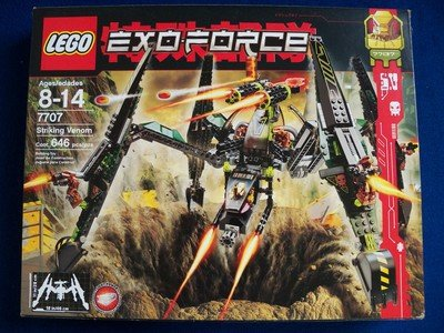 with LEGO Exo-Force design
