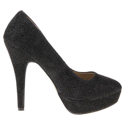 Ital-Design - Zapatos de Vestir de material sintético Mujer negro - negro