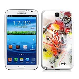 SevenArc MLB Kansas Royals Samsung Galalxy Note 2 N7100 Case Cover For MLB Fans
