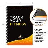 Workout Log Book & Fitness Journal - 25-Week