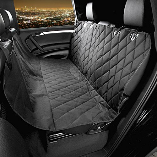 Artempo Dog Seat Cover, Waterproof Hammock Back Seat Cover for Pets with the Best Nonslip Rubber Backing and Seat Anchors for Cars Trucks and SUVs