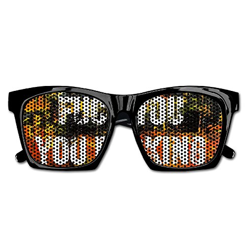 Fuck You You Fucking FuckWedding Party Colored Decal Aviator Style Sunglasses - Fuck Sunglasses You