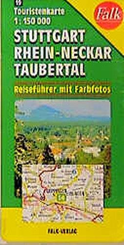 Stuttgart, Rhein-Nectar, Taubertal (Tourist Map)
