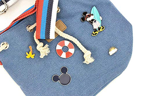 Pins Azul Marino Bucket Codello Mouse Color Bolso Mickey Bag 6x0xA8qEw