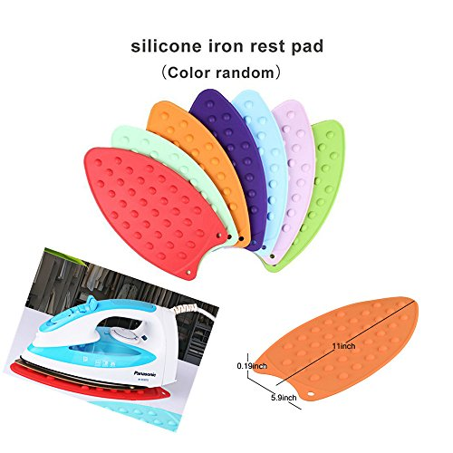 Nnty Gluck Upgraded Thick Ironing Blanket,Portable Ironing Mat with Silicone Pad,and Press Ironing Cloth Mesh,Heat Resistant Ironing Pad Cover for Washer,Dryer,Table Top,Countertop,Iron Anywhere by Nnty Gluck (Image #5)