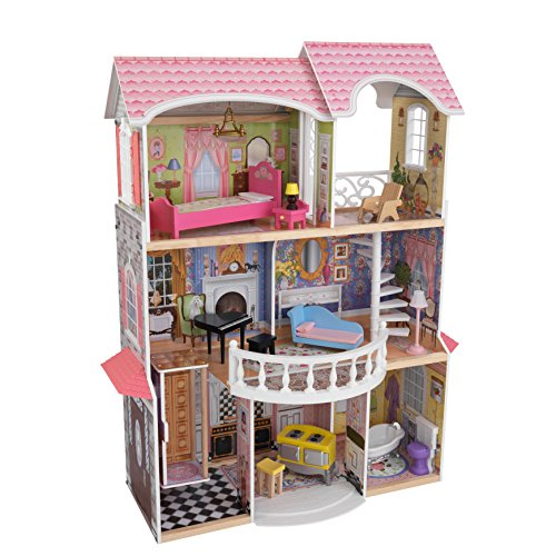(KidKraft Magnolia Mansion Dollhouse with Furniture)