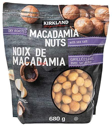 Dry Roasted Macadamia Nuts - Kirkland Signature Macademia Nuts, 680g