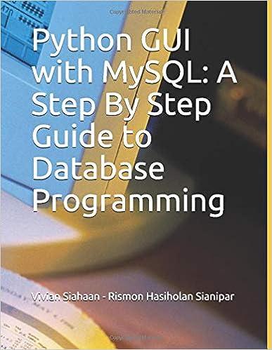 Python GUI with MySQL