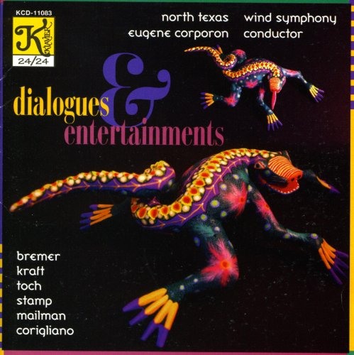 Kraft: Dialogues and Entertainments / Toch: Miniature Overture / Stamp: 4 Maryland Songs