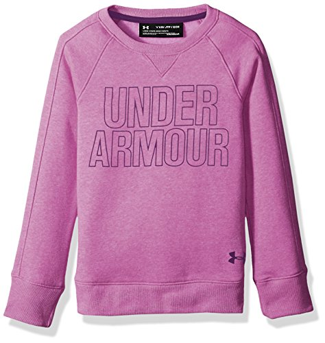 Under Armour Girls Favorite Fleece Hoodie, Purple Rave /Indulge, Youth Large