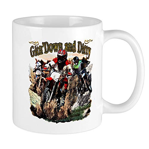 Mug Mega Size (Coffee Drink Cup) Gitn' Down and Dirty Dirt ()
