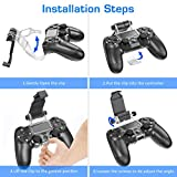 OIVO PS4 Controller Clip Mount, Mobile Phone Clamp