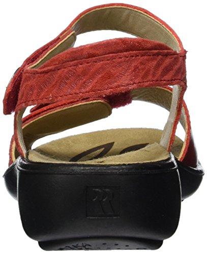 Donna Cinturino Rot coral a T 67 453 col Rosso Tacco Romika Scarpe Ibiza Rot con YxTZxzq