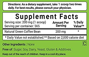 Amazon Com Maximum Strength Pure Green Coffee Bean Extract 4