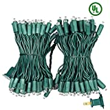XTF2015 Led Christmas Lights, Upgraded End-to-End Plug 66ft 200 LEDs Christmas String Lights - UL Certified - Indoor Outdoor Tree Lights for Garden Wedding Party and Holiday Decoration, Warm White