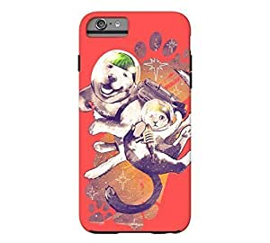 The Adventures of Melon Mutt and Lemon iPhone 5c Coral red Tough Phone Case